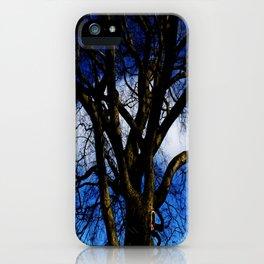 Mr Blue Sky. iPhone Case