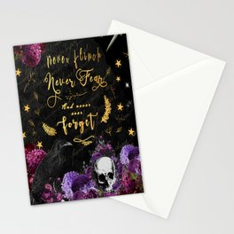Never Fear Stationery Cards