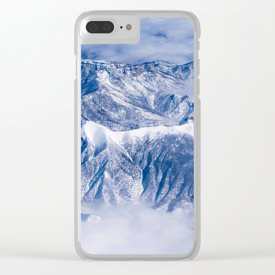 Mountain High Clear iPhone Case