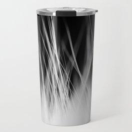 White Static Travel Mug
