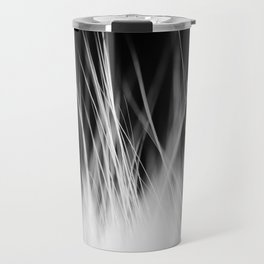 White Static Travel Mug