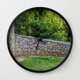 Shaped Rock Wall Feature Wall Clock