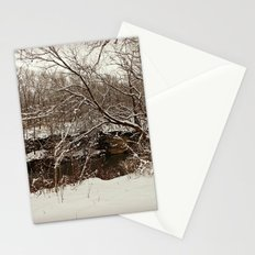 Snowy Creek View  Stationery Cards