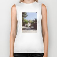 hollywood Biker Tanks featuring Hollywood, California by Kevin Russ