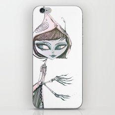 mrs wolf iPhone & iPod Skin