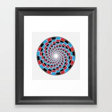 GodEye9 Framed Art Print