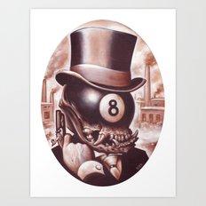 ocho loco  Art Print