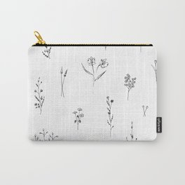 Wildflowers BIG Carry-All Pouch