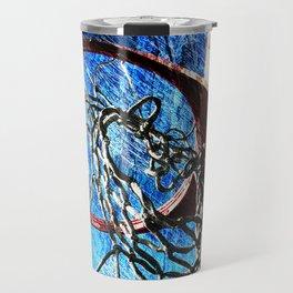 Basketball art 10 Travel Mug