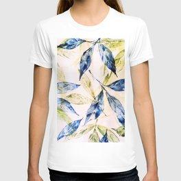 Leaf pattern-Summer feeling T-shirt