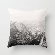 Yosemite Beauty (b&w)  Throw Pillow