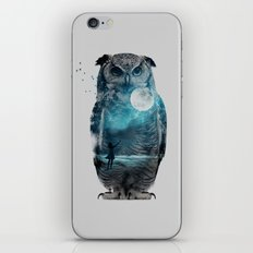 OWL / MOON BALLOON iPhone & iPod Skin
