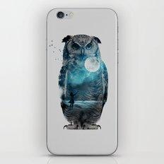 OWL / MOON BALLOON iPhone & iPod Skin