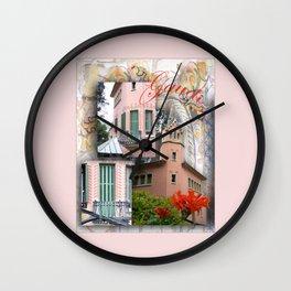 Gaudi Park Guell Wall Clock