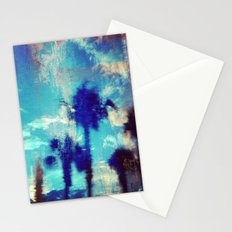 Underwater Palms Stationery Cards