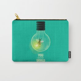 You Light Up My World Carry-All Pouch