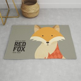 Hello Red Fox Rug