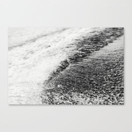 Turbulent Lake Water 6 Canvas Print