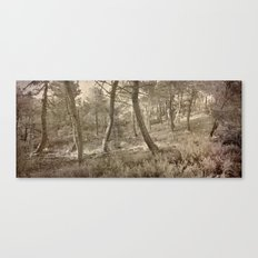 Dance of the forest..... Canvas Print
