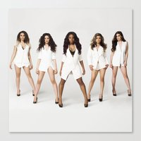 fifth harmony Canvas Prints featuring Fifth Harmony Boss by TSMM