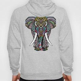 Mandala Ganesha African Elephant   Hoody