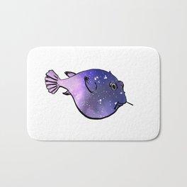 Galaxy Fugu Bath Mat