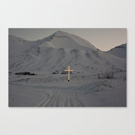 Cemeteries of the North Canvas Print