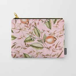 Lemons Pink Carry-All Pouch