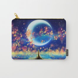 STARRY NIGHT MERMAID Carry-All Pouch