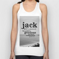 jack white Tank Tops featuring Jack by KimberosePhotography