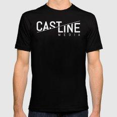 CastLine v1 Mens Fitted Tee Black LARGE