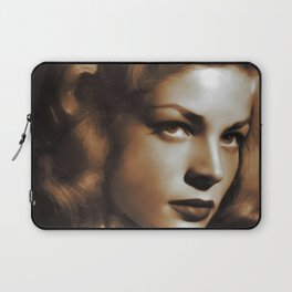 Lauren Bacall, Hollywood Legends Laptop Sleeve