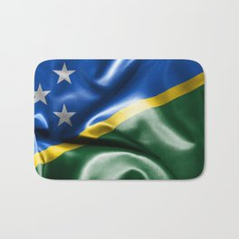 Solomon Islands Flag Bath Mat