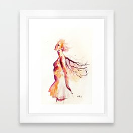 comes light Framed Art Print