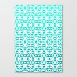 Blue Stars Canvas Print