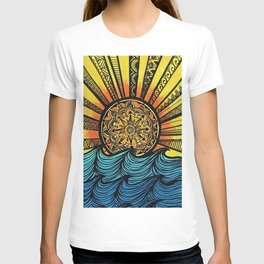 Mandala Sunset T-shirt