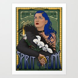 The Spirit of Punk Art Print