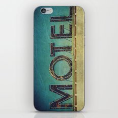 Grunge Motel Sign iPhone & iPod Skin