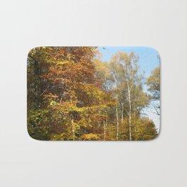 Autumnal Path Bath Mat