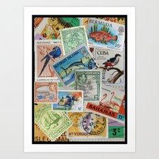 Island Travelers Art Print