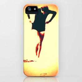 Woman Emerging (g) iPhone Case