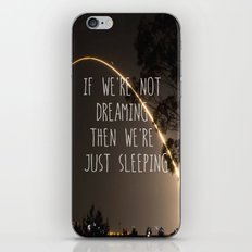 Dreaming or Sleeping iPhone & iPod Skin