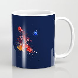 Grunge Cat Coffee Mug