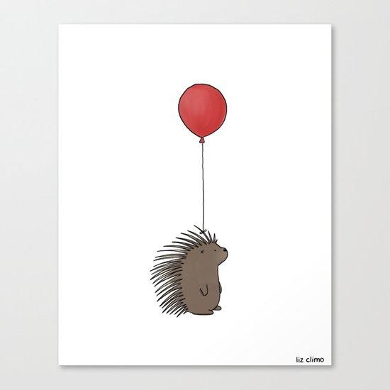 Balloon Hat  Canvas Print