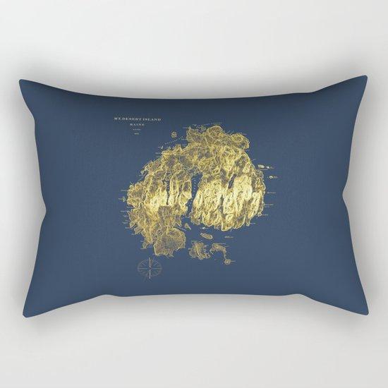 Mt. Desert Island 1875 Rectangular Pillow