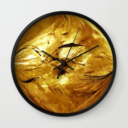 Touch of Gold 2 Wall Clock