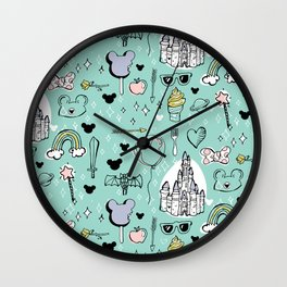 Magical Trinkets Wall Clock