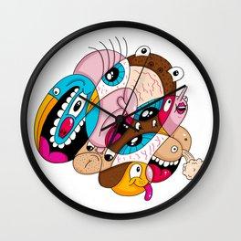 Daily Drawing #1639 Wall Clock
