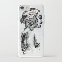 black swan iPhone & iPod Cases featuring Swan by JsR_OtR