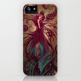 Embrace the night iPhone Case
